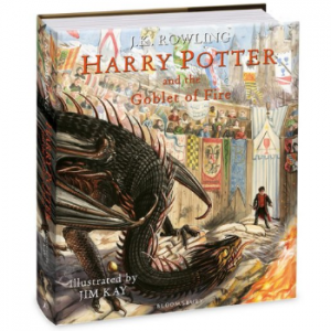 Harry potter (04) harry potter and the goblet of fire (illustrated edition)