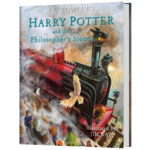 Harry Potter 1 - Harry Potter and the Philosopher's Stone Illustrated Edition